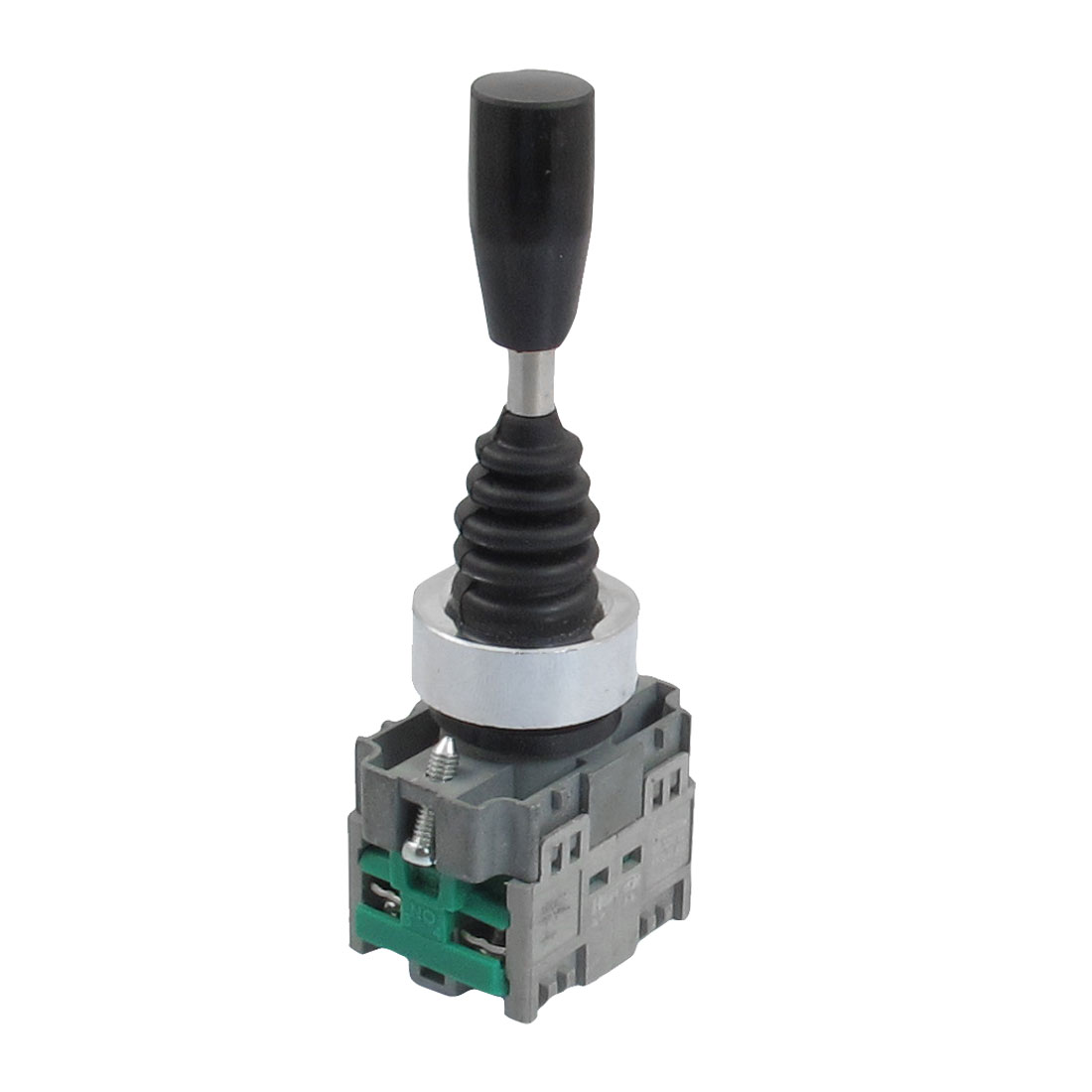 AC 400V 10A 2NO Momentary 22mm Fixing Thread 2 Way Joystick Switch