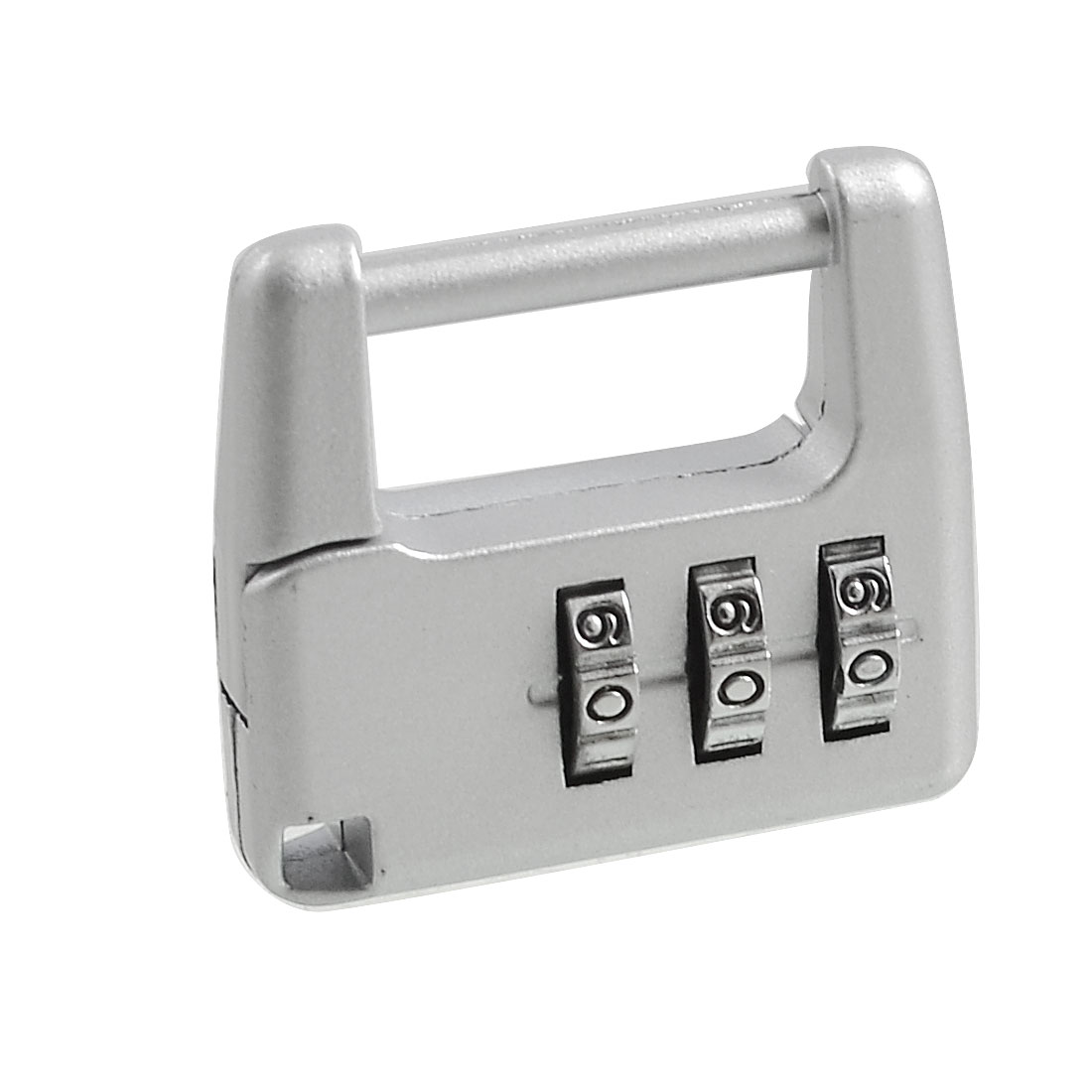 Travel Luggage Suitcase Lock 3 Digits Combination Padlock Silver Tone