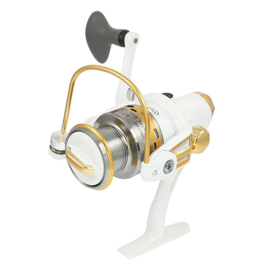 Offwhite Gear Ratio 5.5:1 3-Ball Bearings Fishing Spinning Reel AF2000