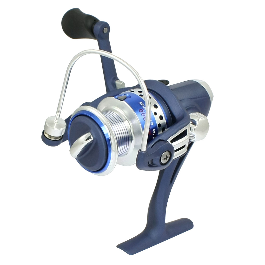 Foldable Handgrip Gear Ratio 5.5:1 3-Ball Bearings Fishing Spinning Reel AF2000
