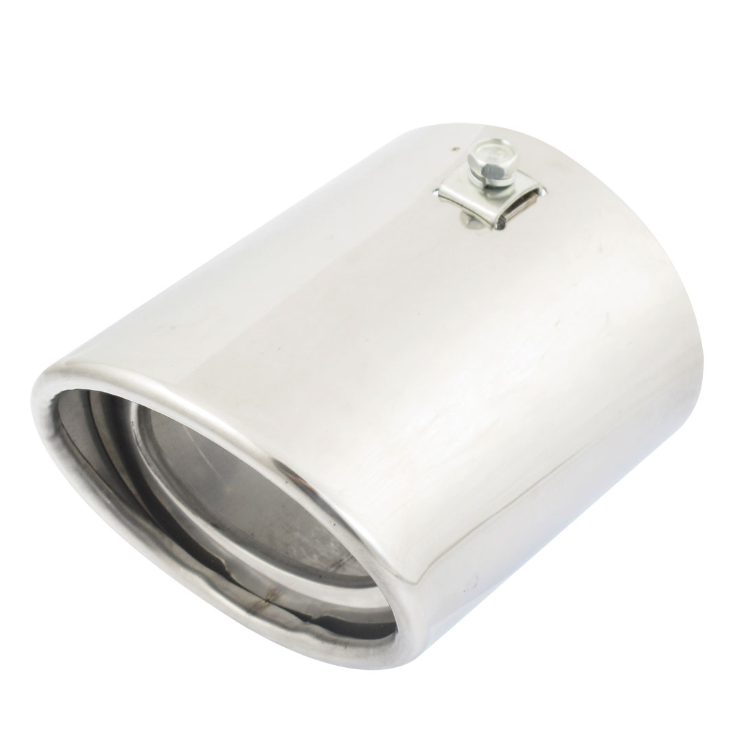 Oval Shaped Stainless Auto Car Exhaust Pipe Silencer Muffler Tip