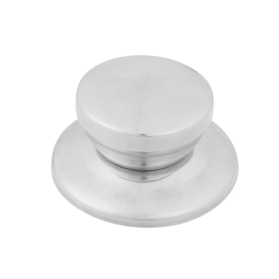 Cookware Parts Silver Tone Stainless Steel Pot Pan Lid Knob