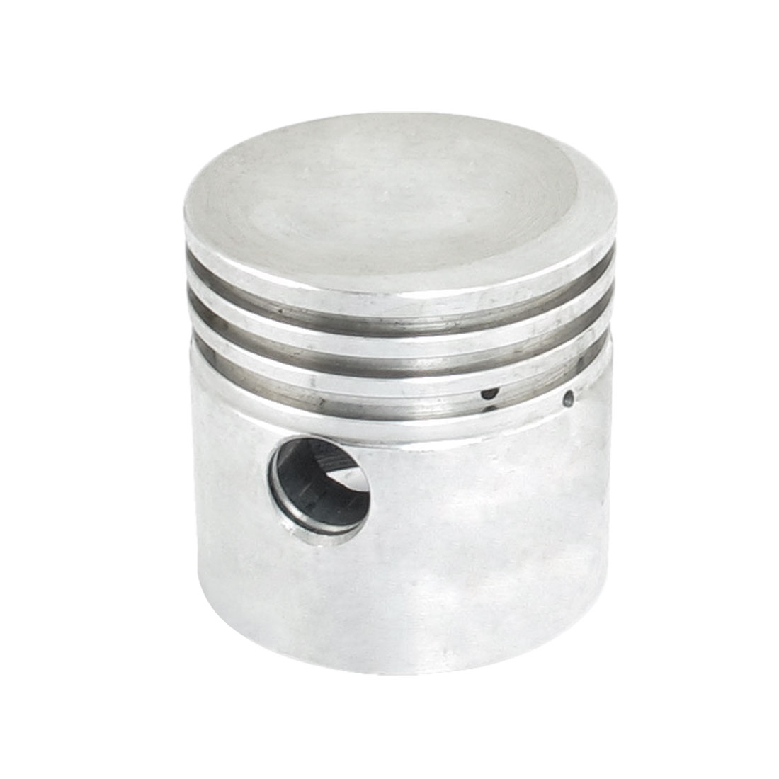 Silver Tone Aluminum Alloy 51mm Diameter Air Compressor Piston