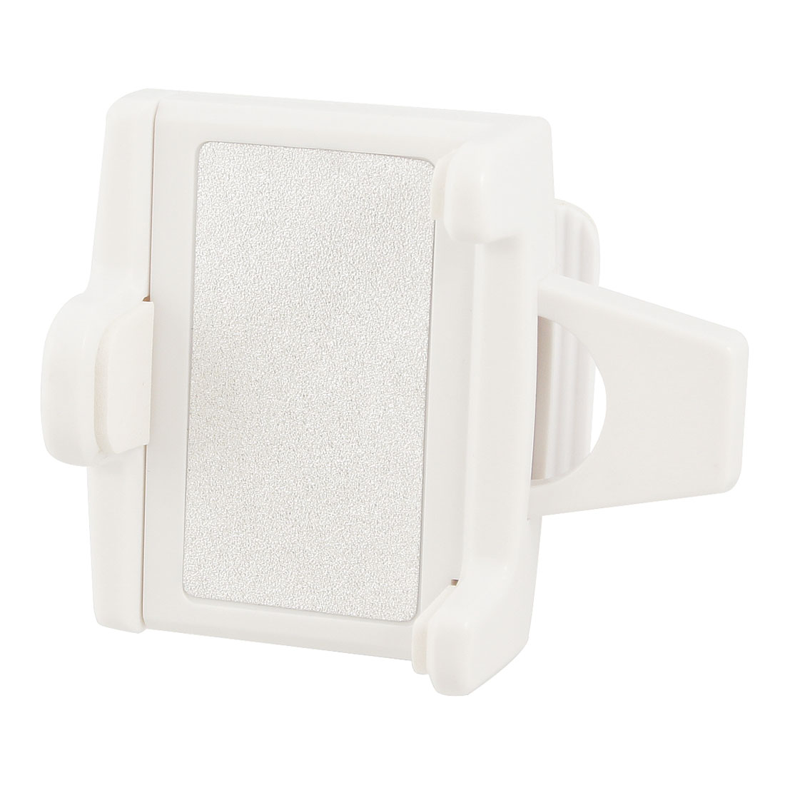 Car Auto White Plastic Holder Bracket for Mobile Phone GPS