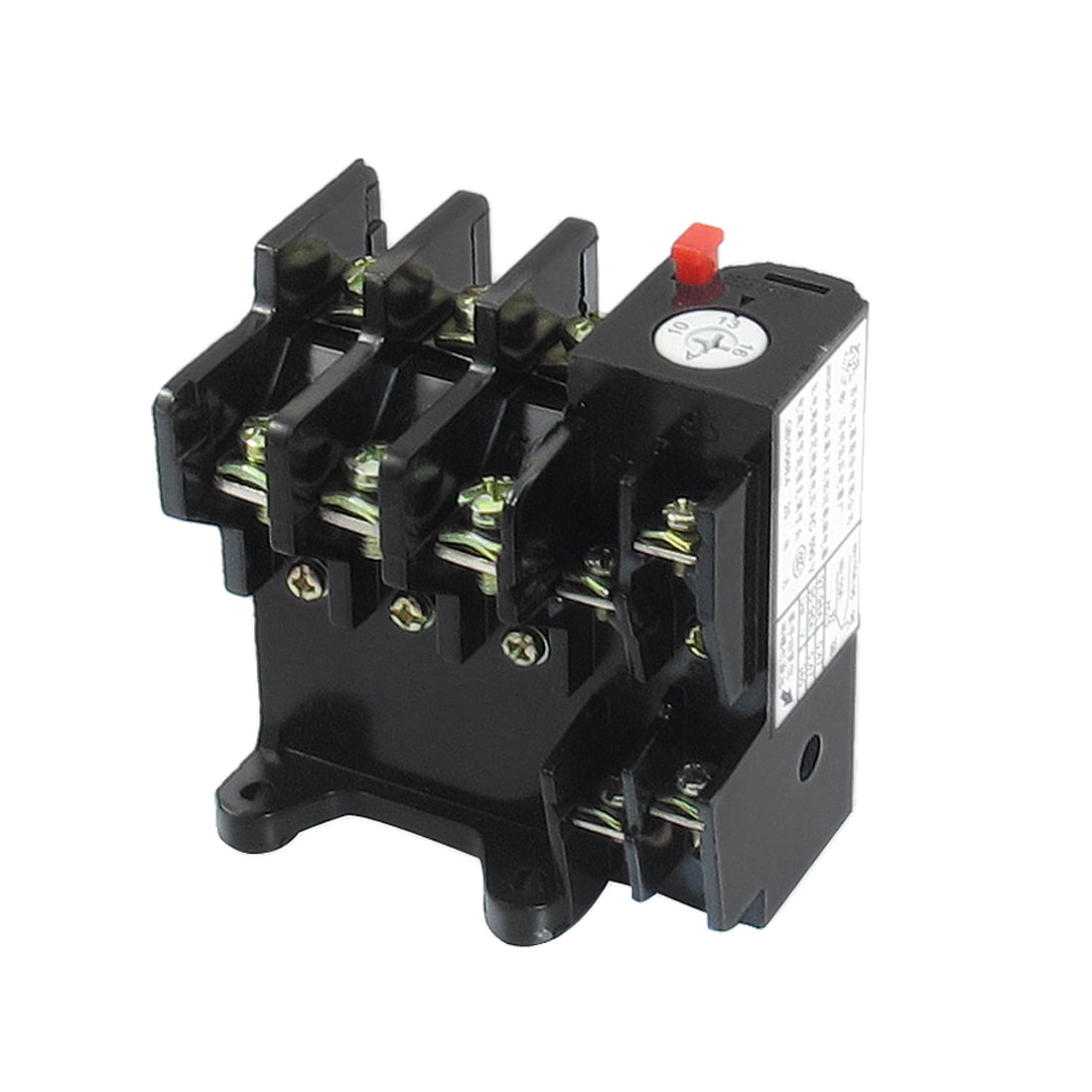 JR36-20 16Amp 10A-16A Adjustable 3 Pole Thermal Overload Relay 1NO 1NC