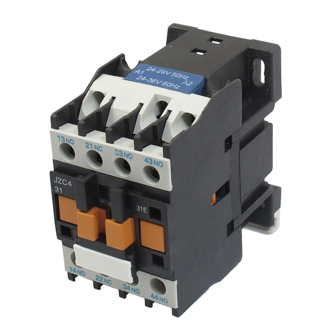 JZC4-31 24-36V 50/60Hz Coil 20A 3P Three Pole 3NO 1NC AC Contactor