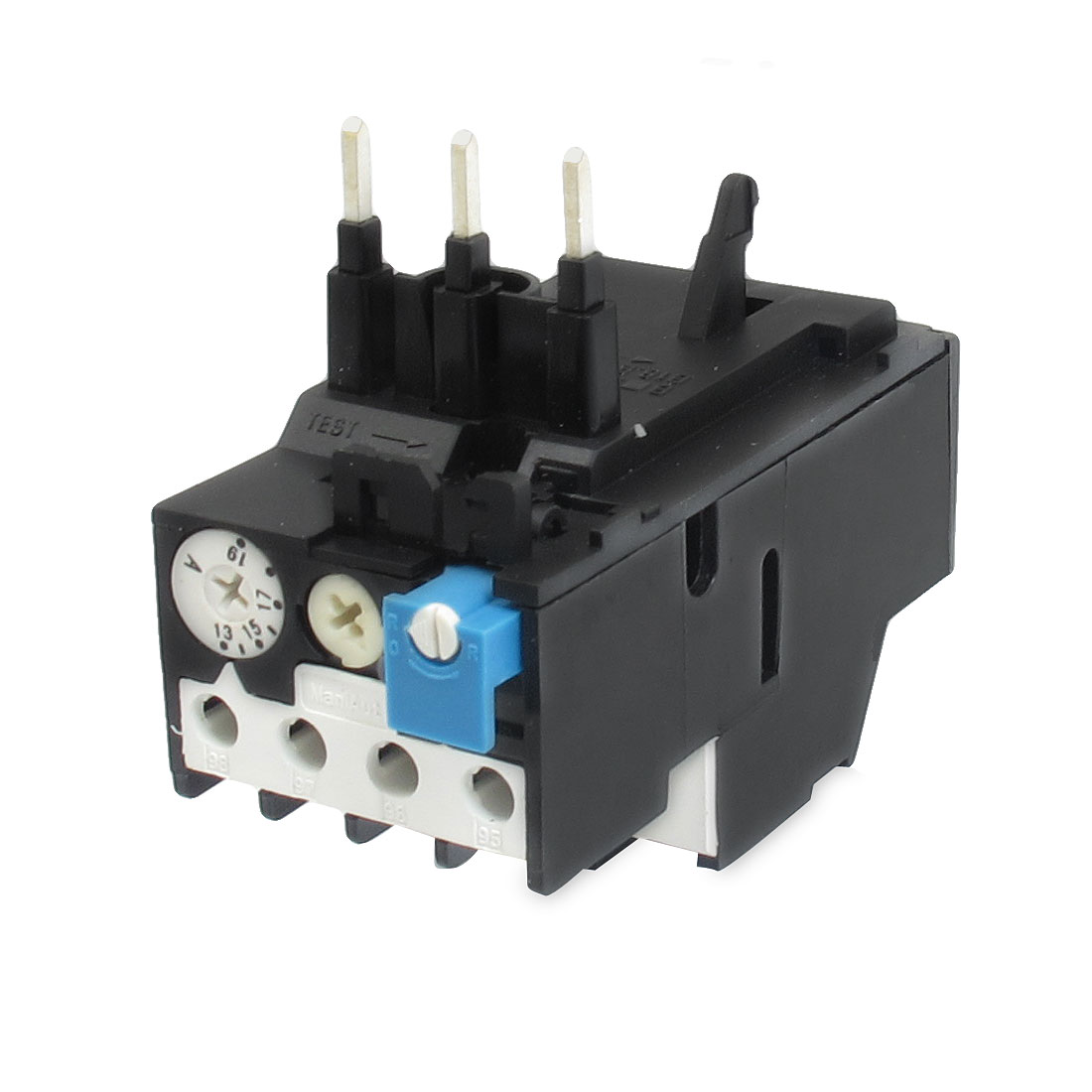13-19A Adjusting Range 3 Poles 1NO 1NC Thermal Overload Relay