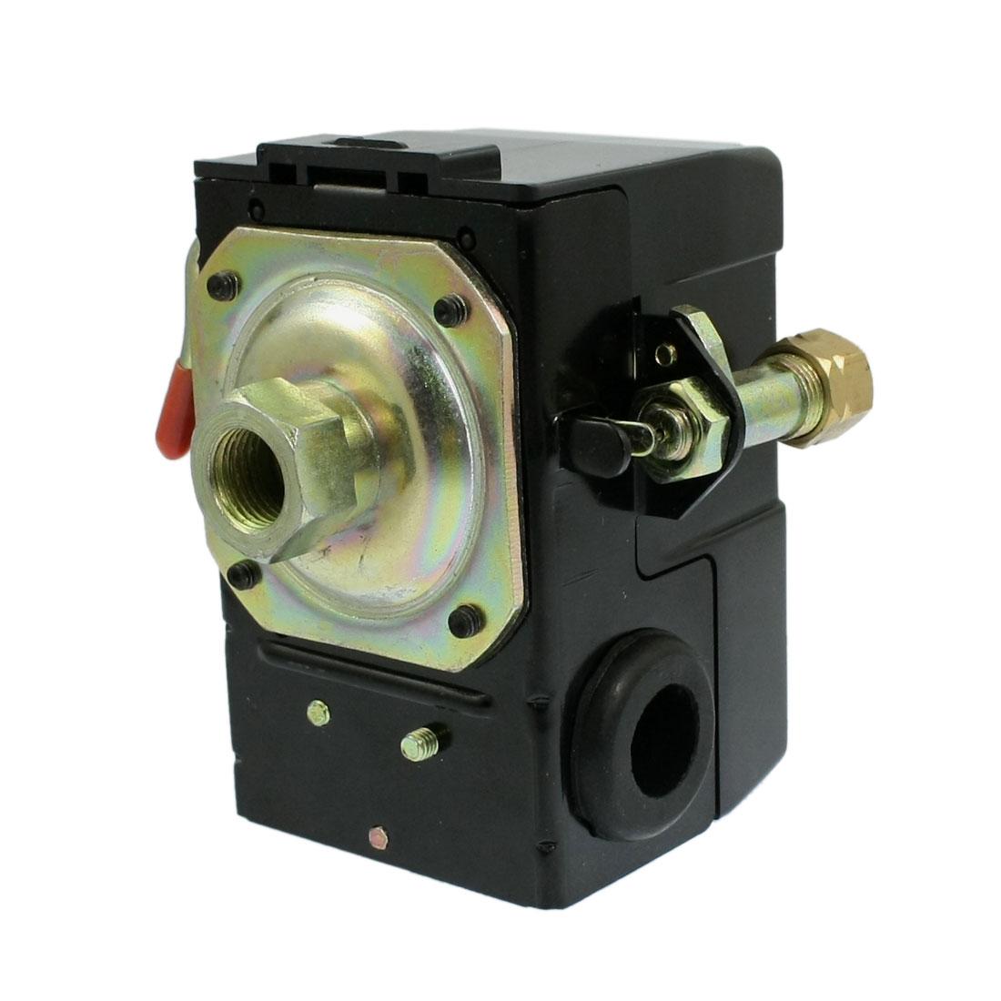BSP 1/4 Adjustable Air Compressor Pneumatic Pressure Switch Control Valve