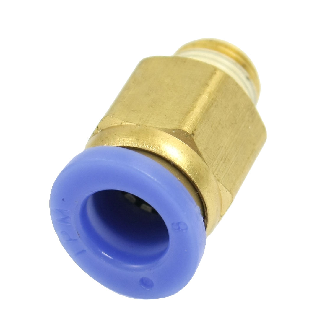 9mm Male Thread 8mm Push in Joint Air Pneumatic Connector Quick Fitting