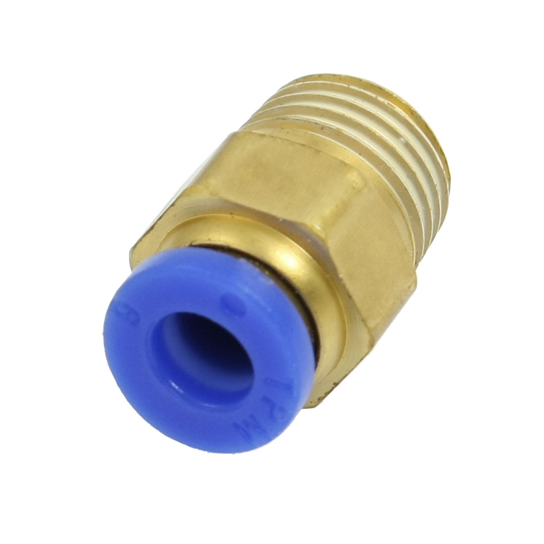 13mm Male Thread 6mm Push in Joint Air Pneumatic Connector Quick Fitting