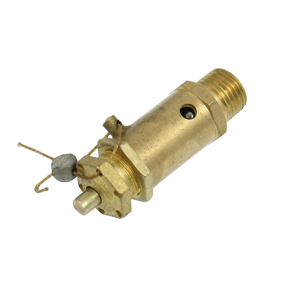 "Brass 1/2"" Male Thread Air Compressor Safety Pressure Relief Valve 10Mpa"