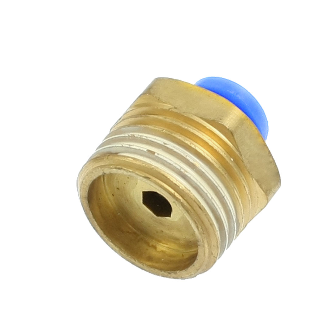 20mm Male Thread 6mm Push in Joint Air Pneumatic Connector Quick Fitting