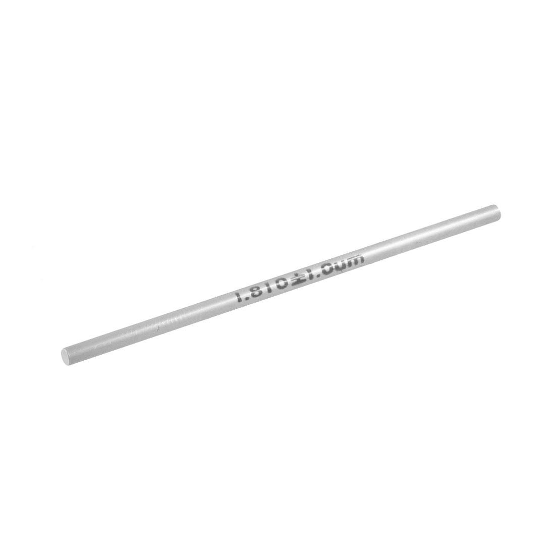 Tungsten Carbide 1.81mm Diameter Plug Pin Gage Gauge w Storage Box