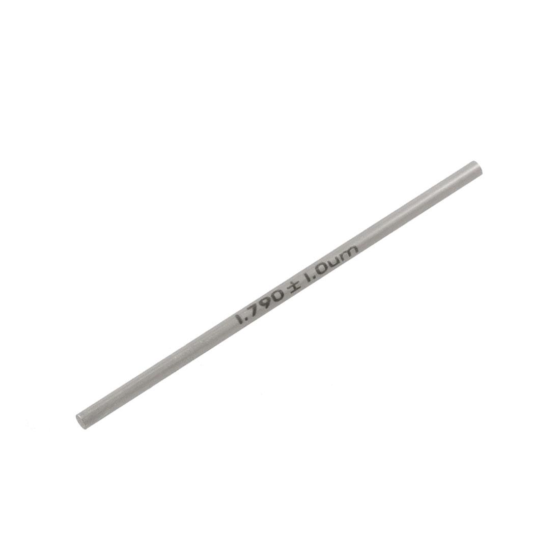 Tungsten Carbide 1.79mm Diameter Plug Pin Gage Gauge w Storage Box