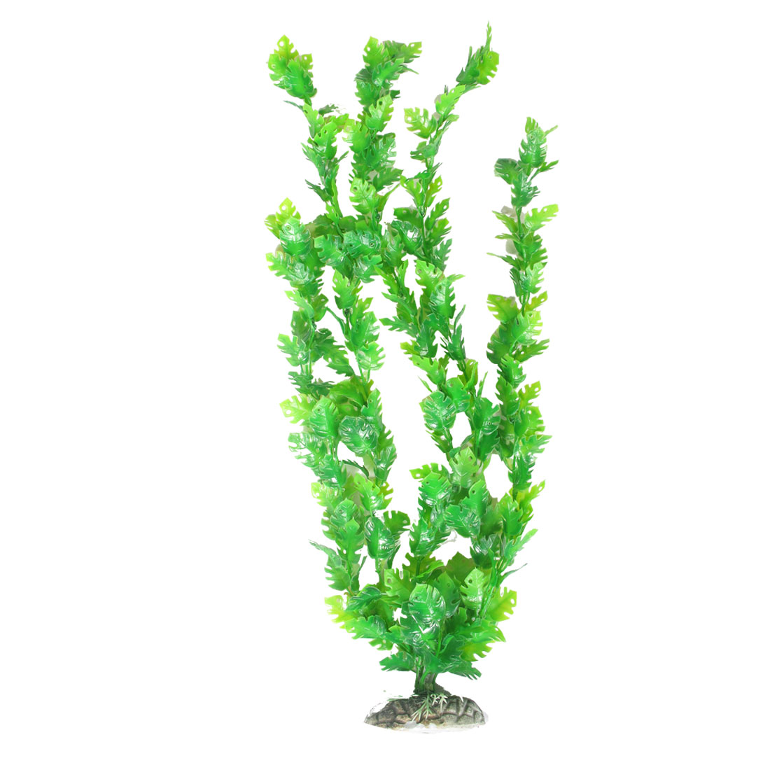 Long Aquarium Aquascape Green Emulational Plastic Flower Aquatic Plant Decor