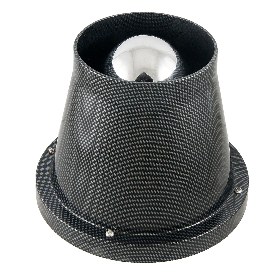 "3"" Universal Round Tapered Carbon Fiber Cone Cold Air Filter Intake Turbo"