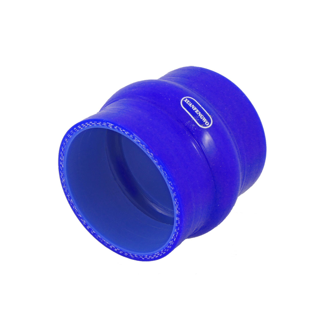 Auto 64mm Inner Diameter Turbo Intake Silicone Hump Hose Blue