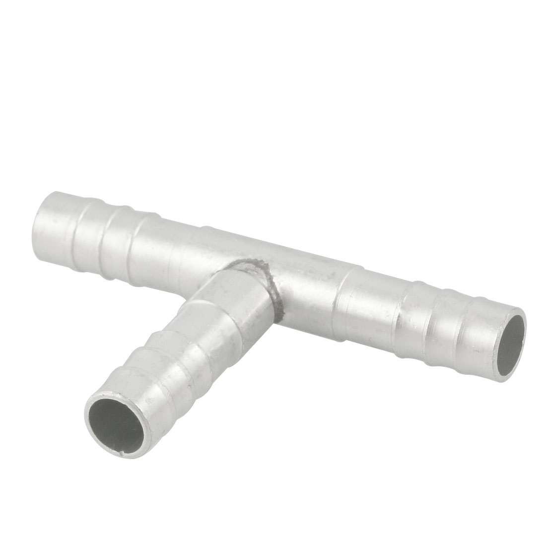 11mm Inner Dia Barbed Pipe Connector Tee Tubing Fitting Adapter