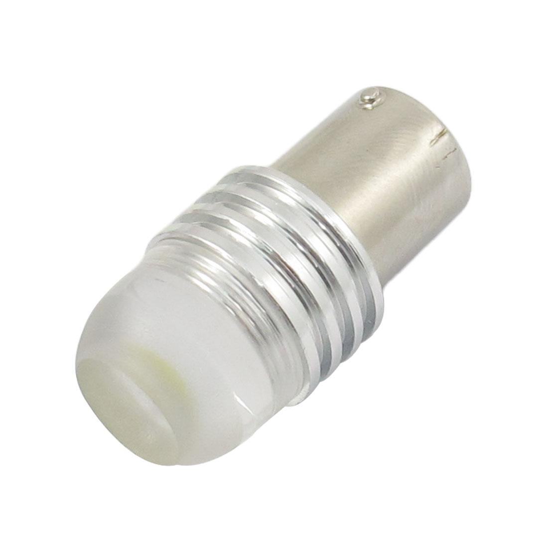 Fish Eye Head BA15S 3W White Wedge LED Lamp Bulb Reverse Light for Car Auto