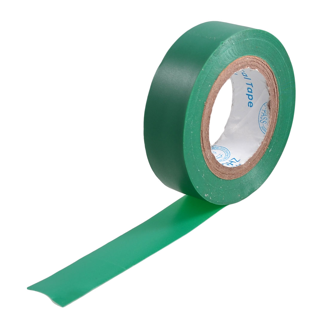 17mm Wide Insulation Adhesive Electrical Tape Green 10M 32.8ft