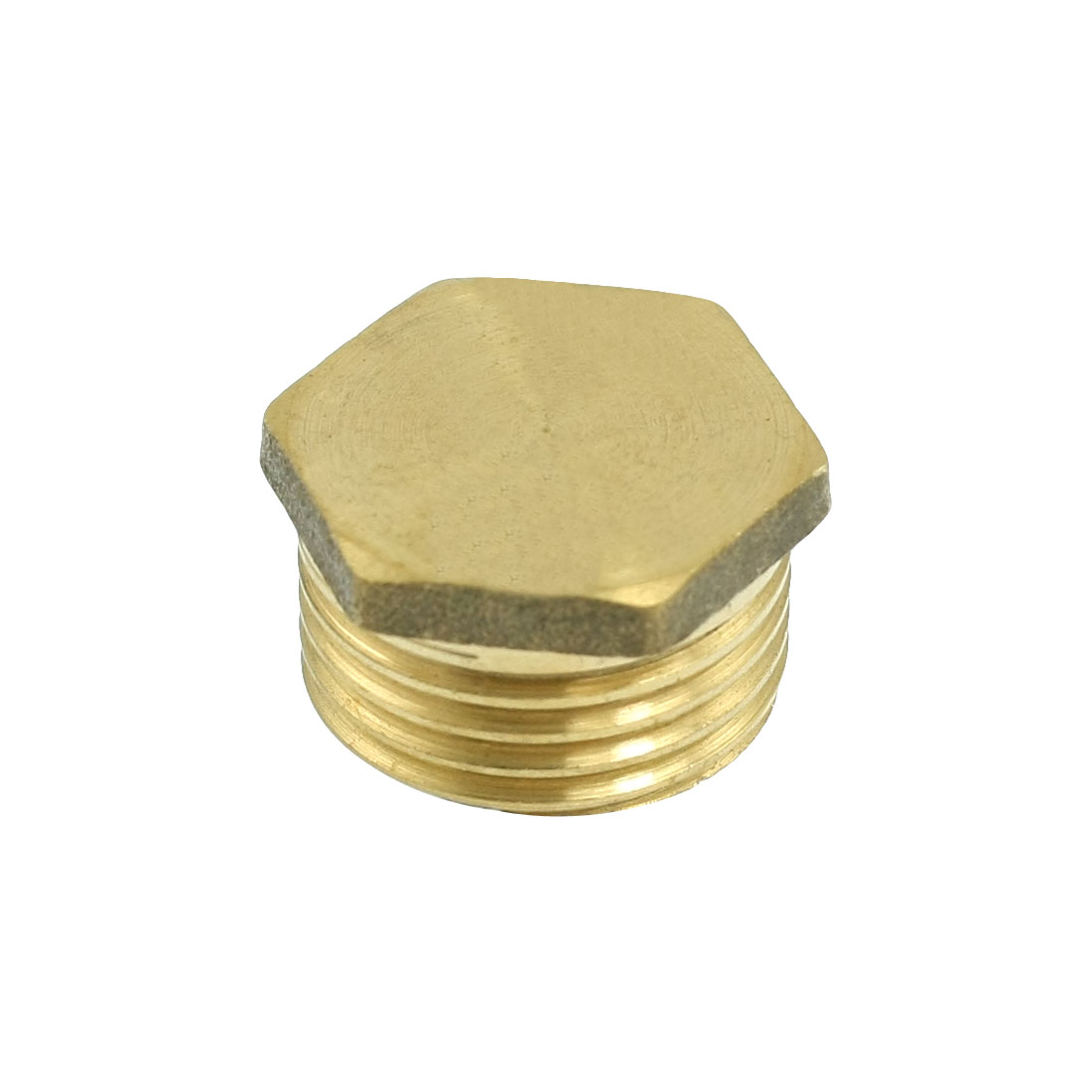 20mm Male Thread Pipe Reducer Brass Hex Head Bushing Connector