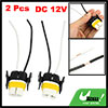 H11 881 Ceramic Headlight Harness Wiring Wire Socket Pig Tail 2 Pcs