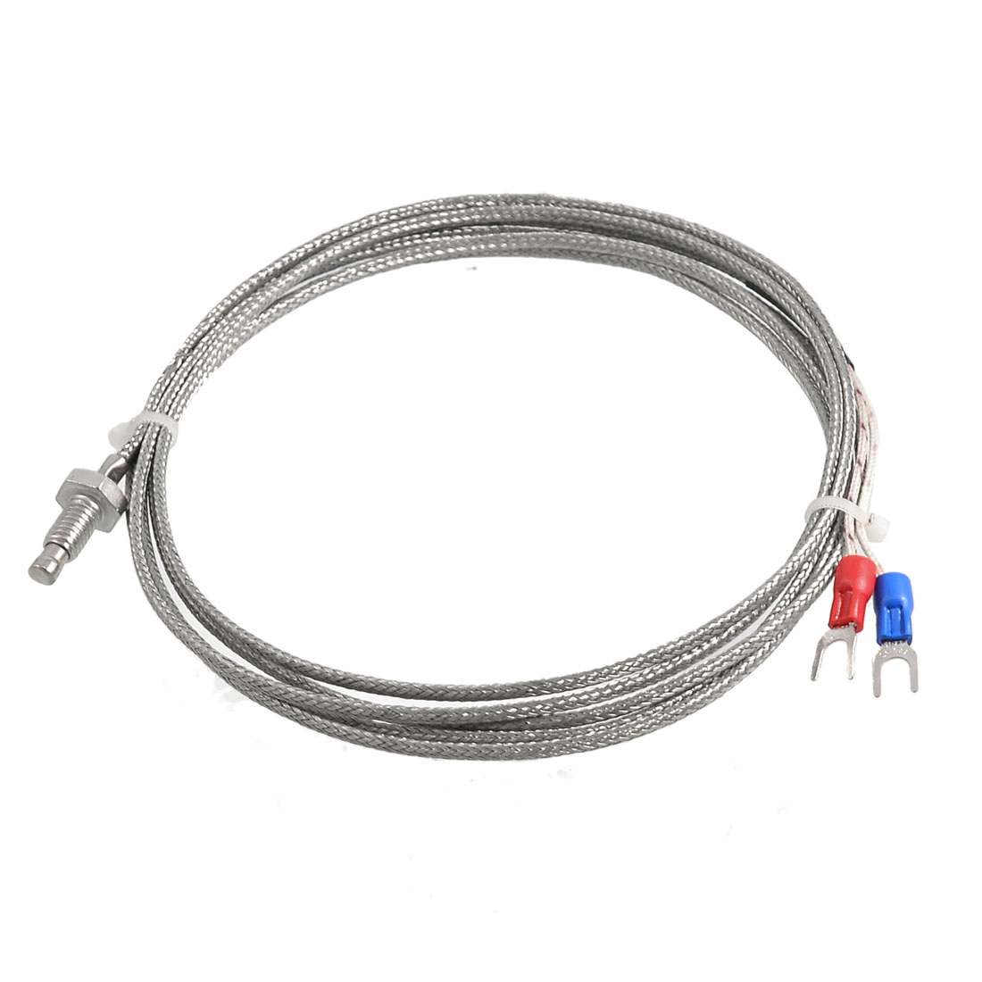 K Type 5.4mm Thread Thermocouple Temperature Measurement Sensor 2M