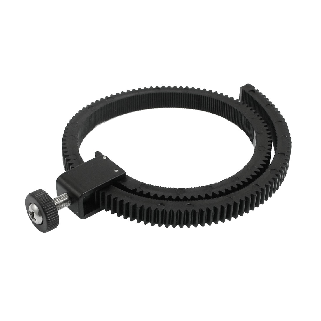 Camera Photograph Flexible DSLR Lens Follow Focus Gear Ring Belt Black