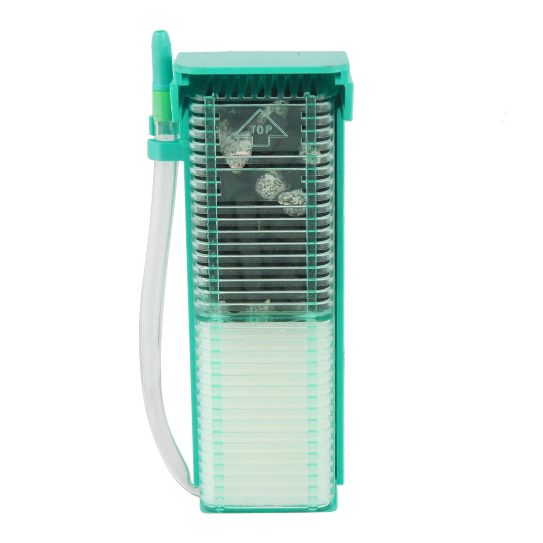 Green Plastic Aquarium Fish Tank Water Filter Purified
