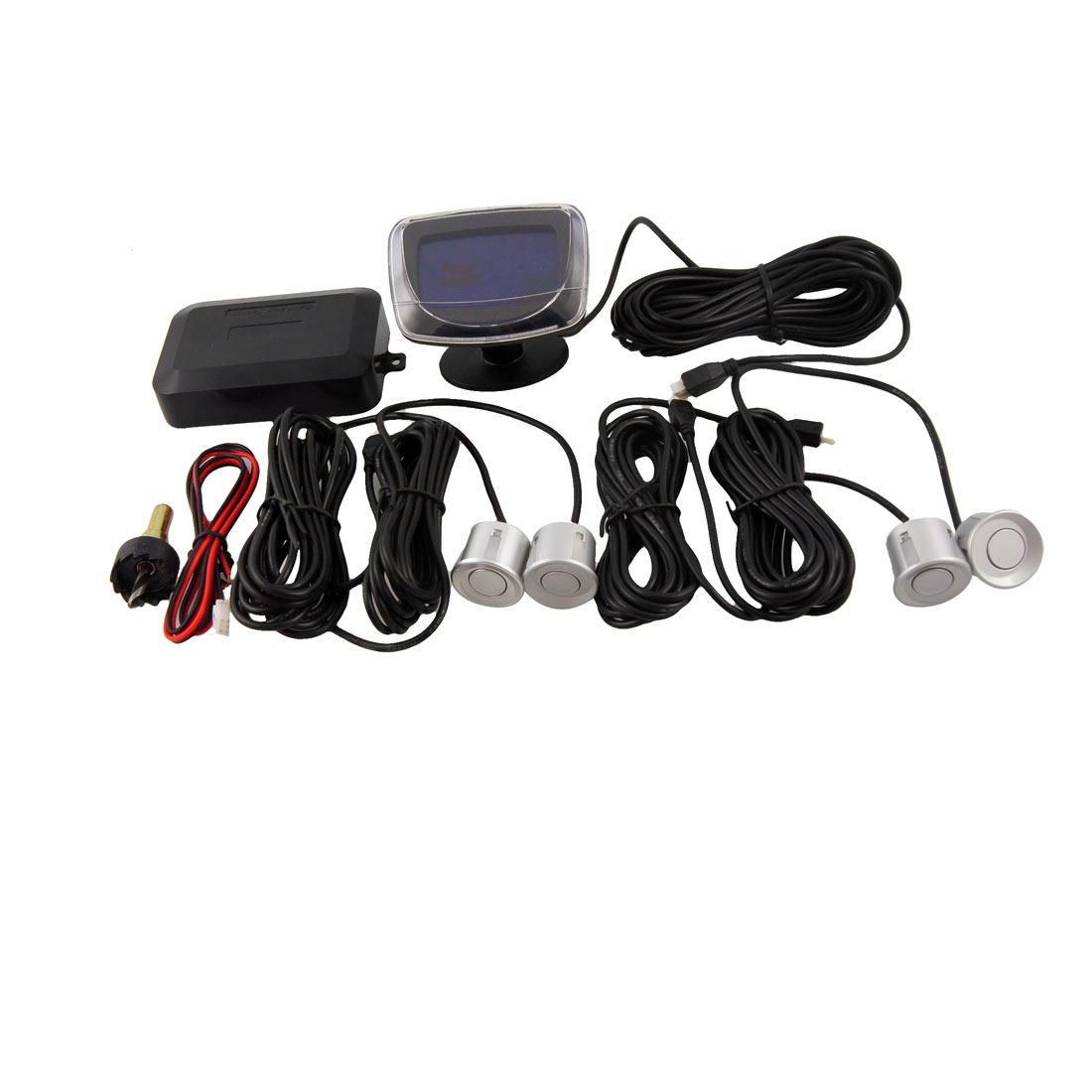 Parking 4 Sensors LED Display Car Reverse Backup System
