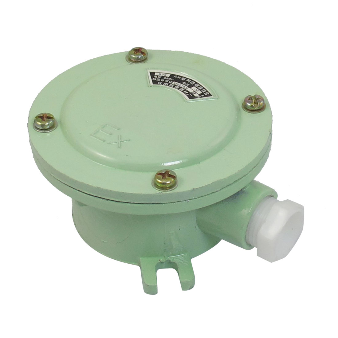 "AC 380V 30A 1/2""PT Metal Case Single Hole Explosion-proof Junction Box"