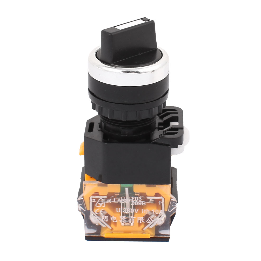 AC 380V 10A NO + NC 3 Position Rotary Selector Rotary Switch