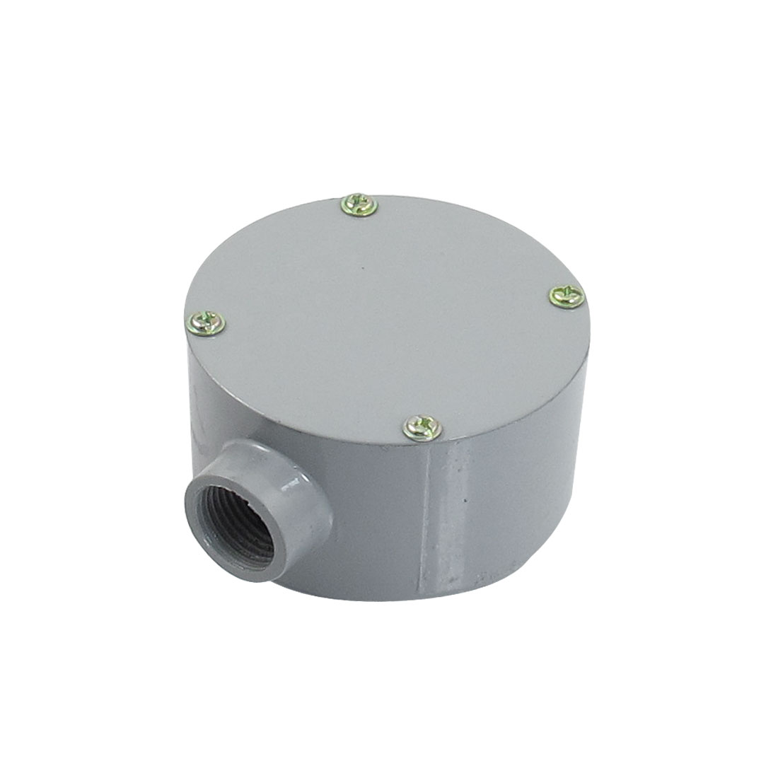"G1/2"" Dia. One Hole Connecting Metal Round Water-Proof Junction Box"