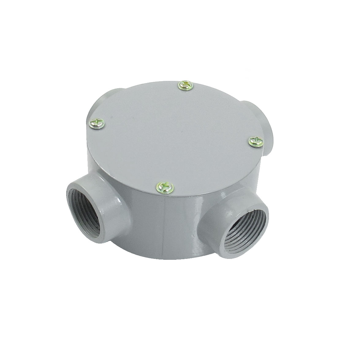 "G3/4"" Right Angle Four Hole Connecting Metal Round Water-Proof Junction Box"
