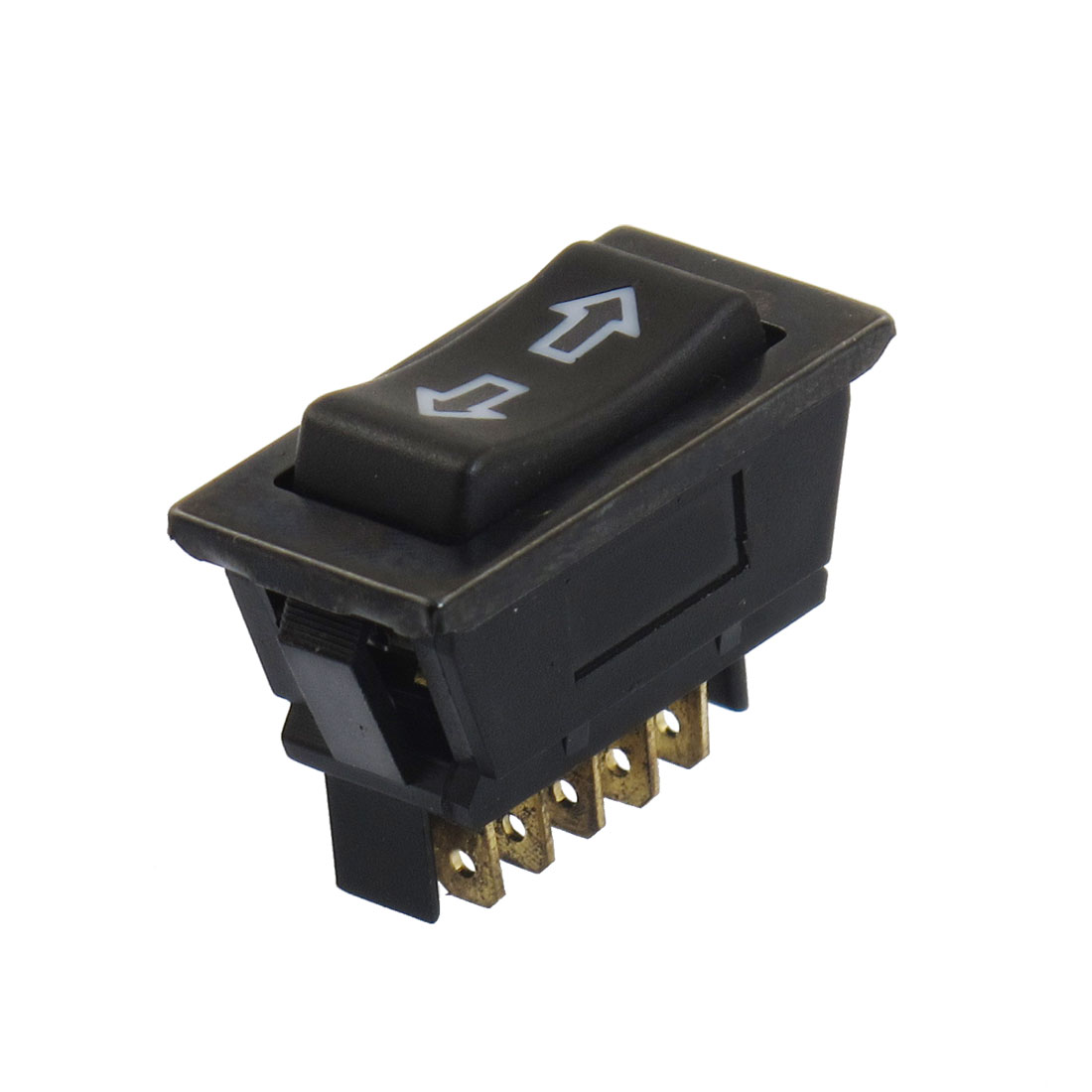 DC 12V 20A Momentary 5 Pins DPDT Automobile Car Power Window Switch