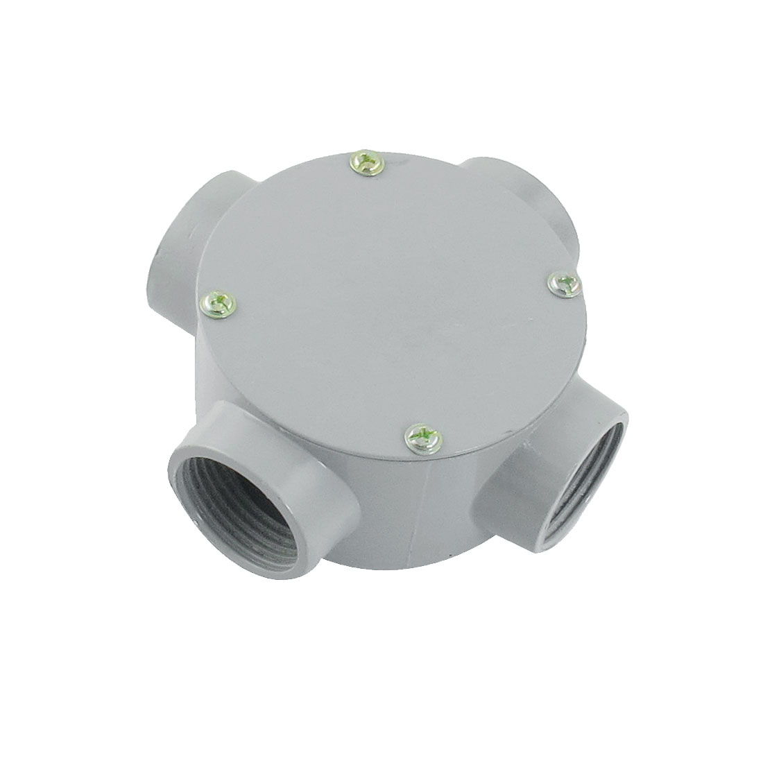 "G1"" Right Angle Four Hole Connecting Metal Round Water-Proof Junction Box"