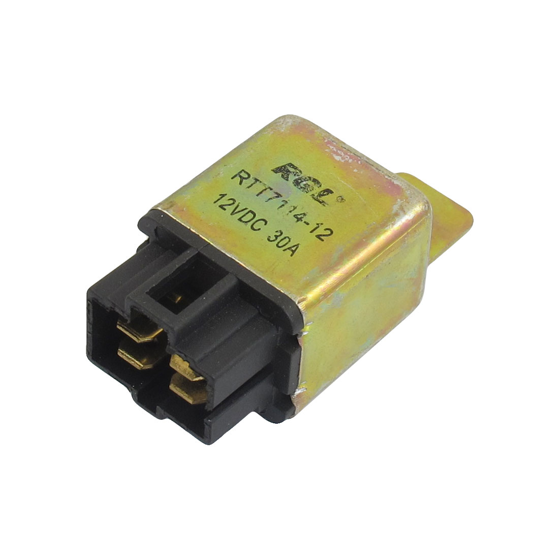 DC 12V 30A NO 4 Pins 6mm Mounting Hole 4 Pins Socket Automotive Truck Car Relay