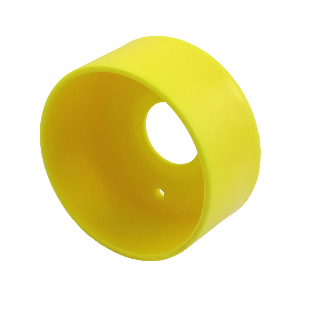 22mm Install Hole Yellow Plastic Protective Cover for Push Switch Button