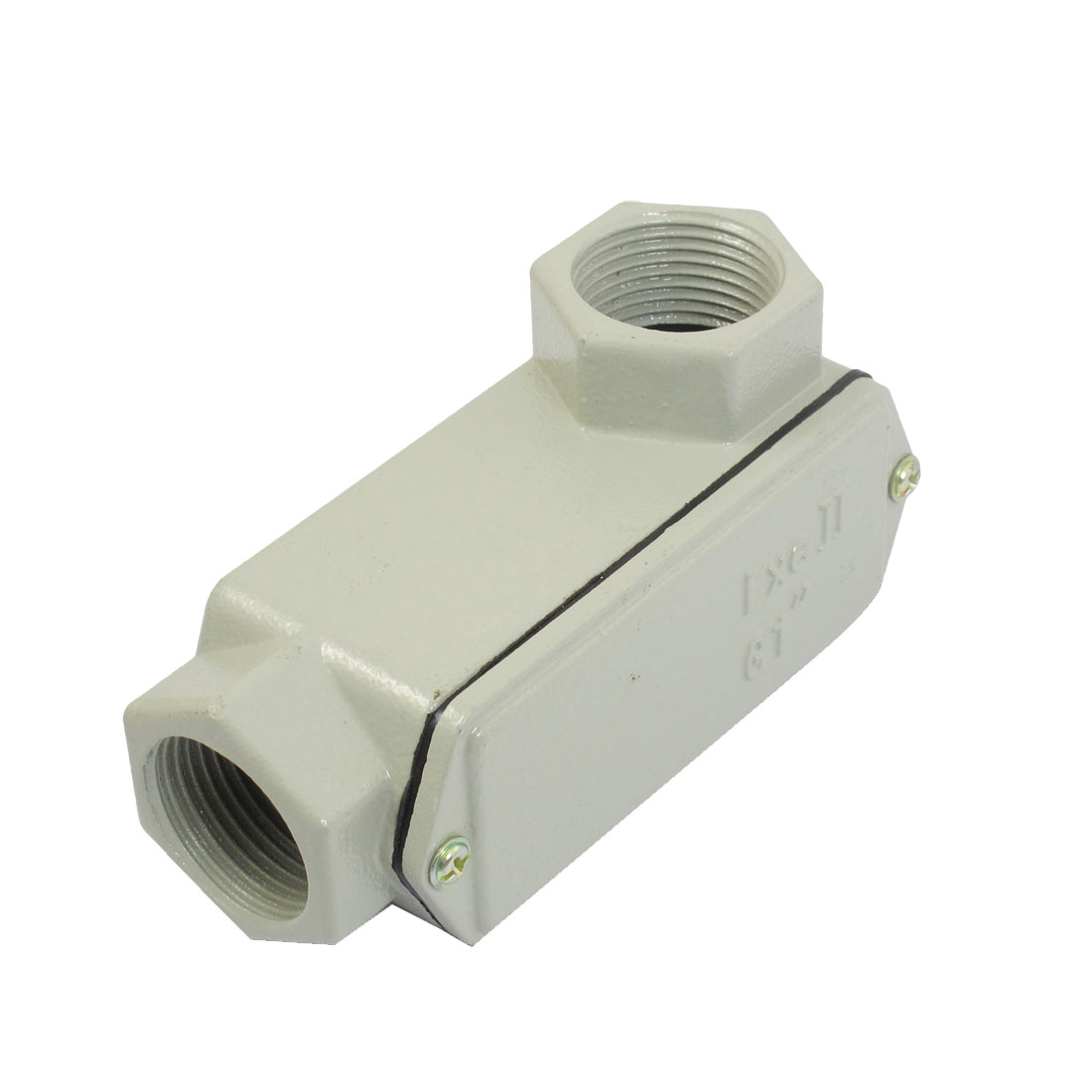 "G1"" 2 Hub Connector Right Angle Metal Shell Explosion-proof Conduit Box"