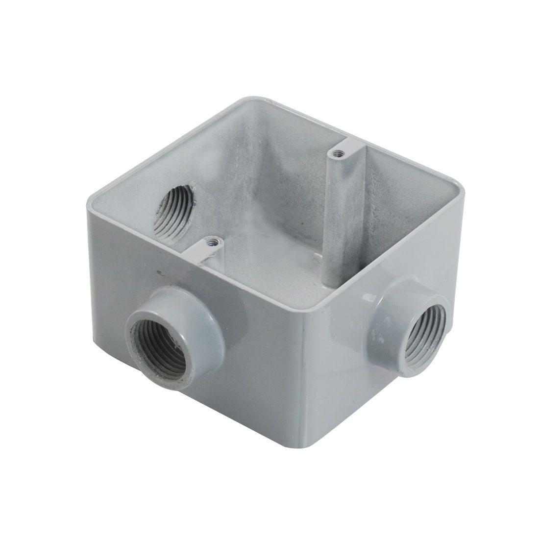 "G1/2"" Home Metal 3 Hole Circuit Wire Flush Mount Junction Box"