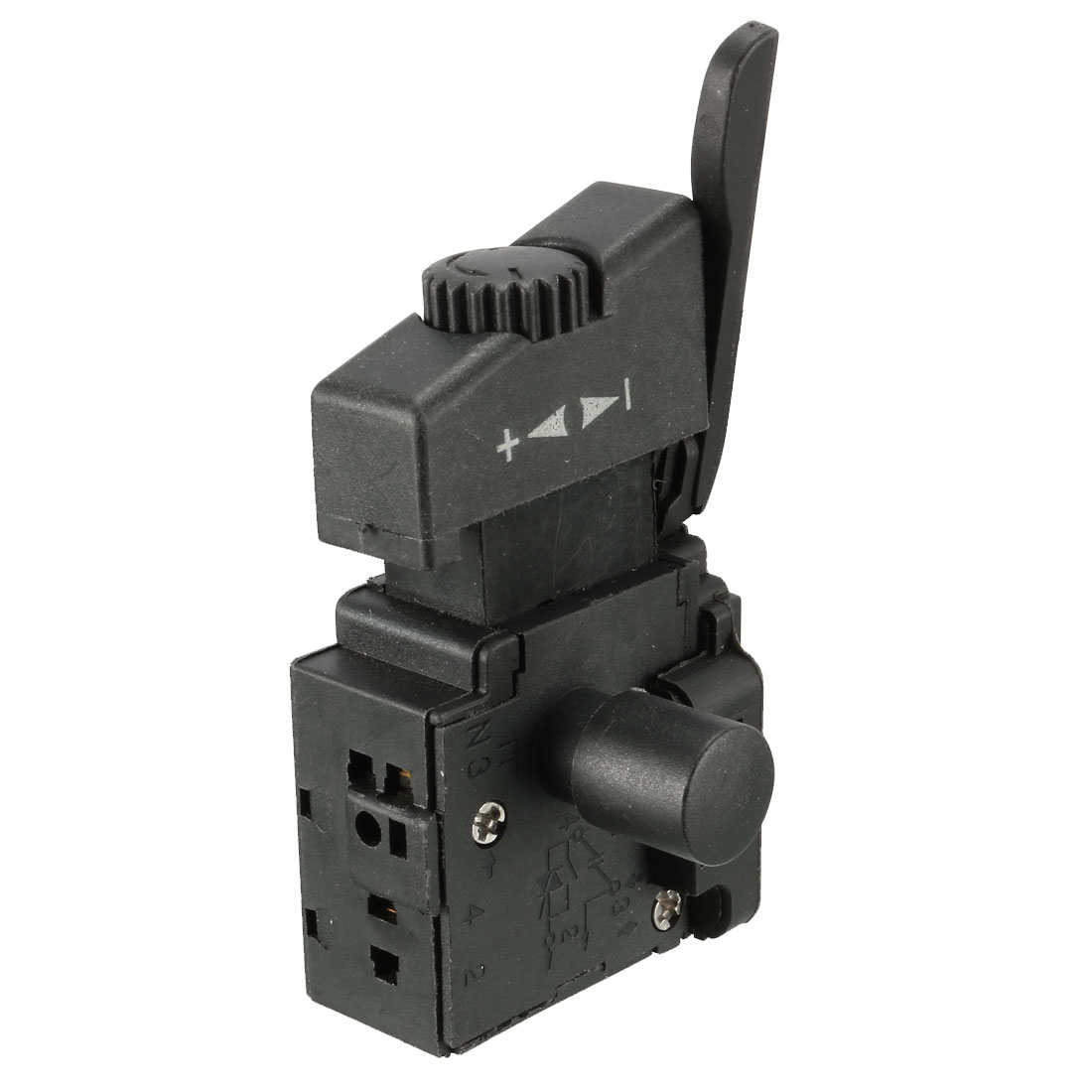 FA2-4/1BEK SPST Lock on Power Tool Trigger Button Switch Black