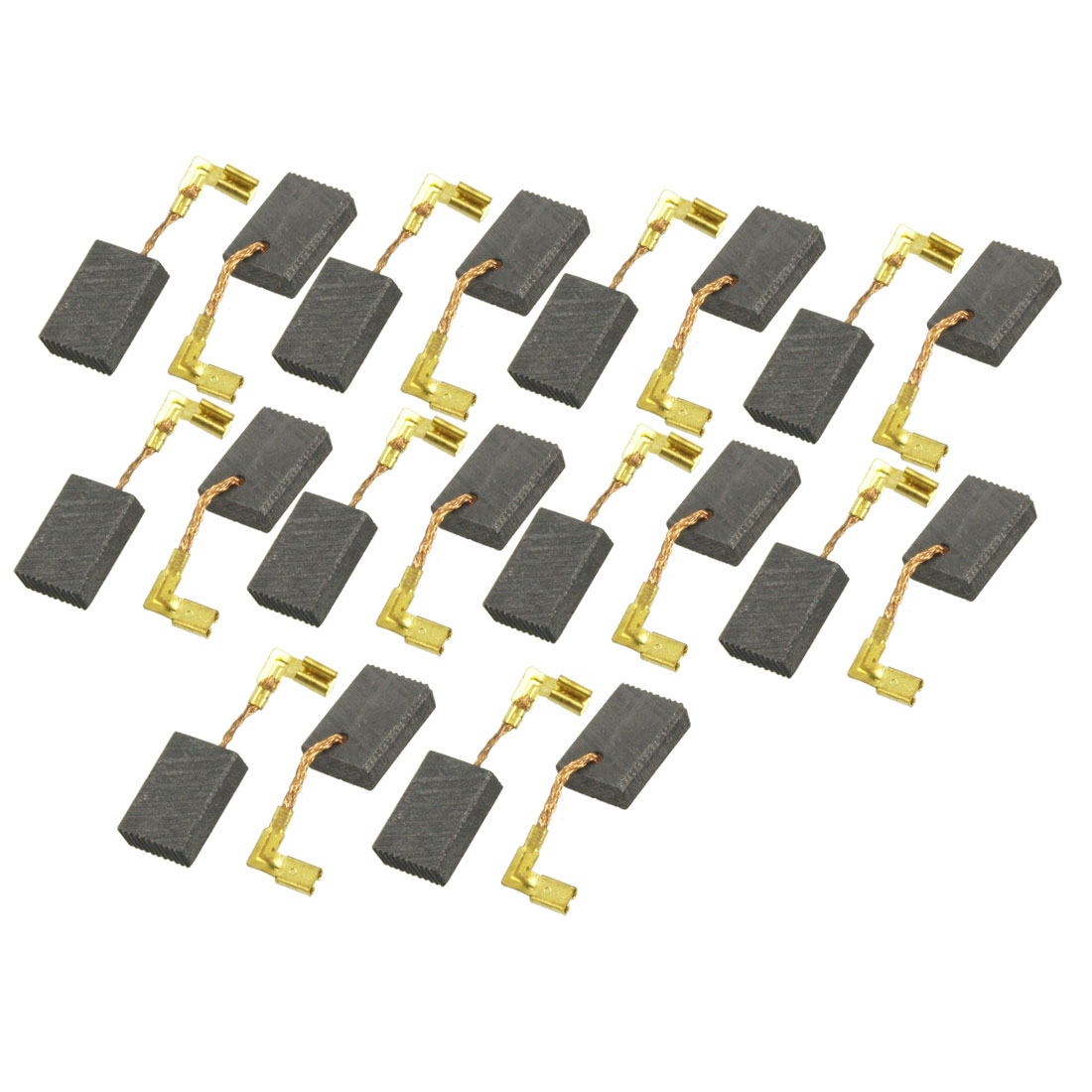 "20 Pcs Electric Drill Motor Carbon Brushes 5/8"" x 7/16"" x 3/16"""