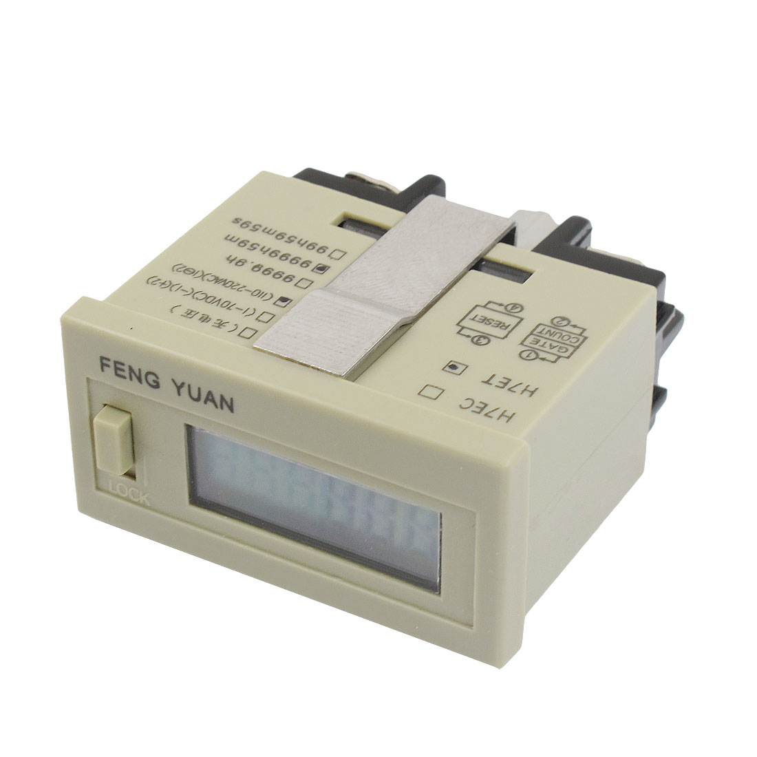 AC 110-220V Voltage 0 - 9999h59m Counting Range Resettable Time Timer Counter