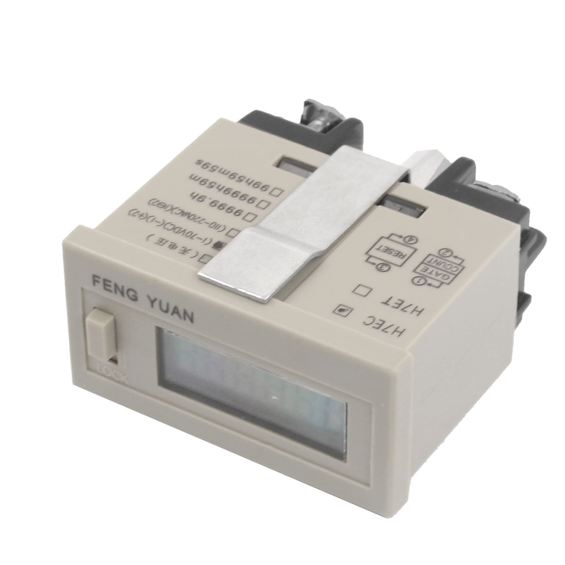 AC 220V Reset 0 - 999999 Counting Range Resettable Digital Counter