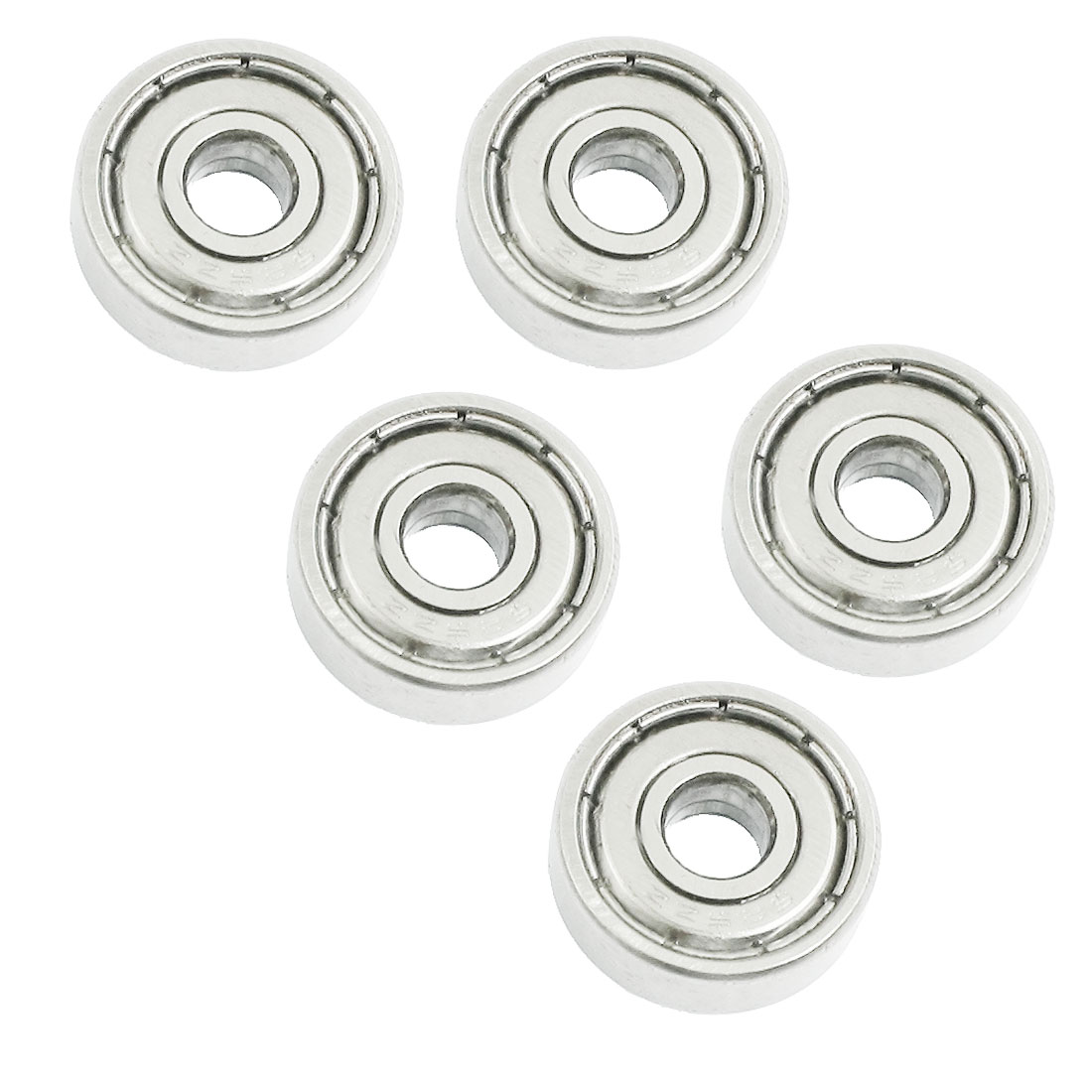 5 Pcs Skateboard Deep Groove Radial Ball Bearings 625ZZ 16x5x5mm