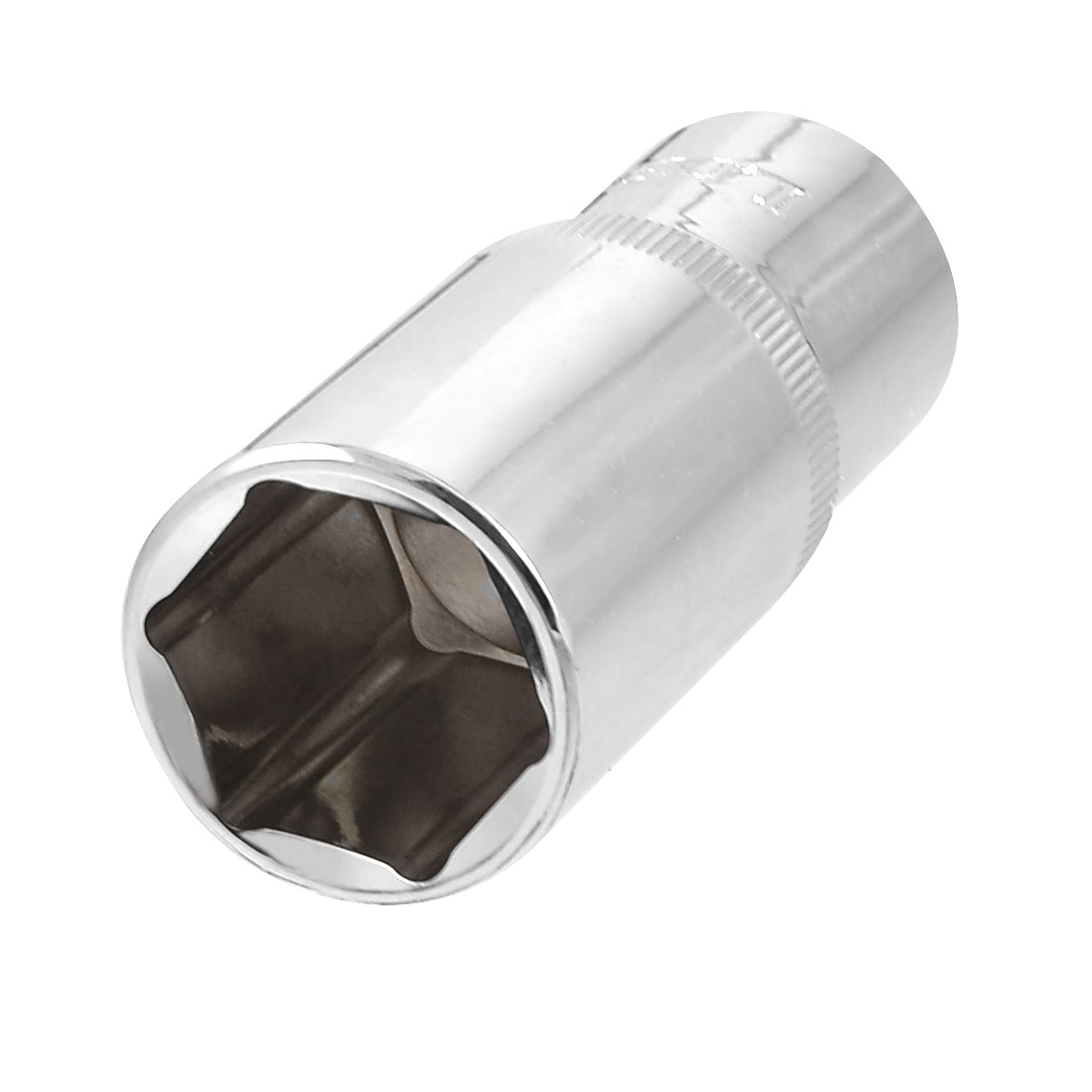 "Auto 1/2"" Square Drive Chrome-vanadium Steel 24mm 6 Point Axle Nut Socket"