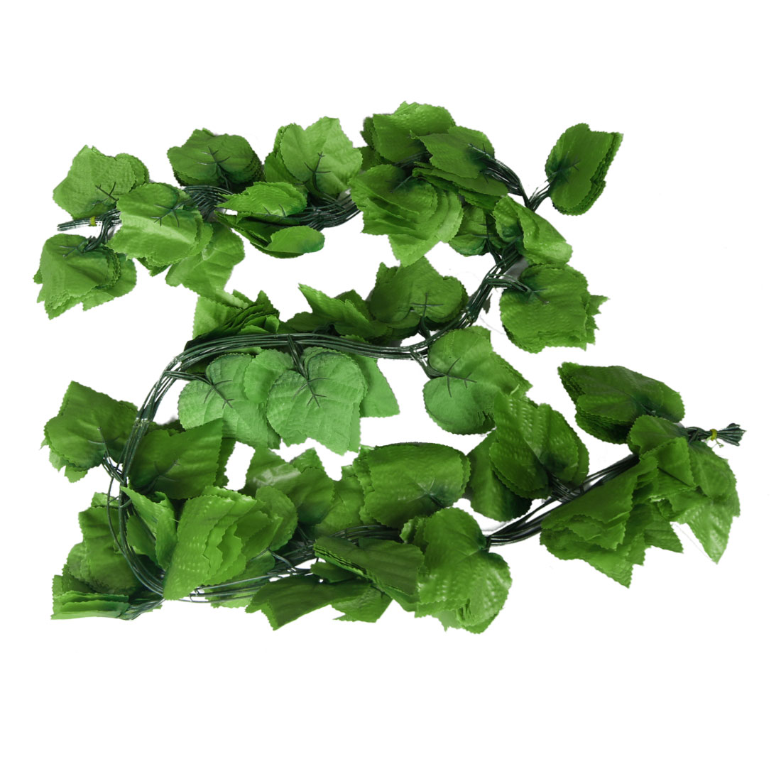Home Decor Green Artificial Grape Leaves Hanging Vine 5.2Ft 10 Pcs