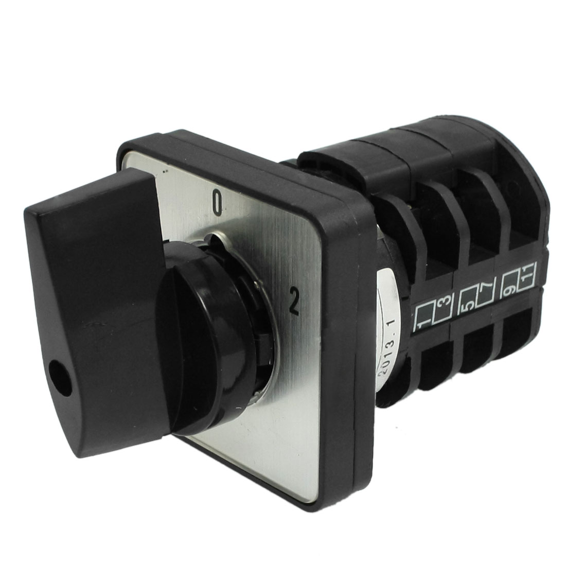 On-Off-On 12 Terminals Change Over Control Rotary Cam Switch 10A 380V