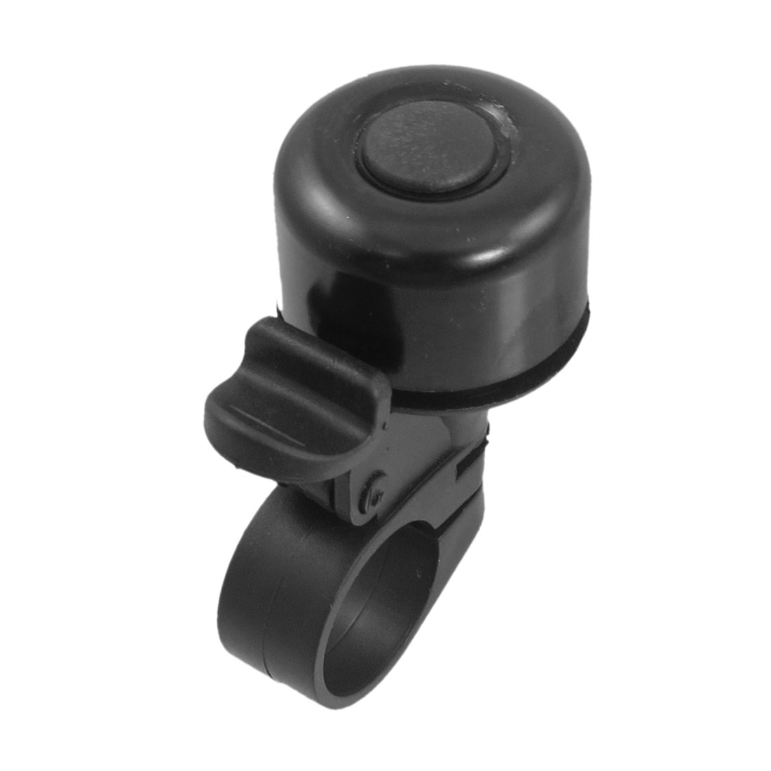 Black Alloy Housing Cylindrical Shaped Bicycle Handlebar Bell