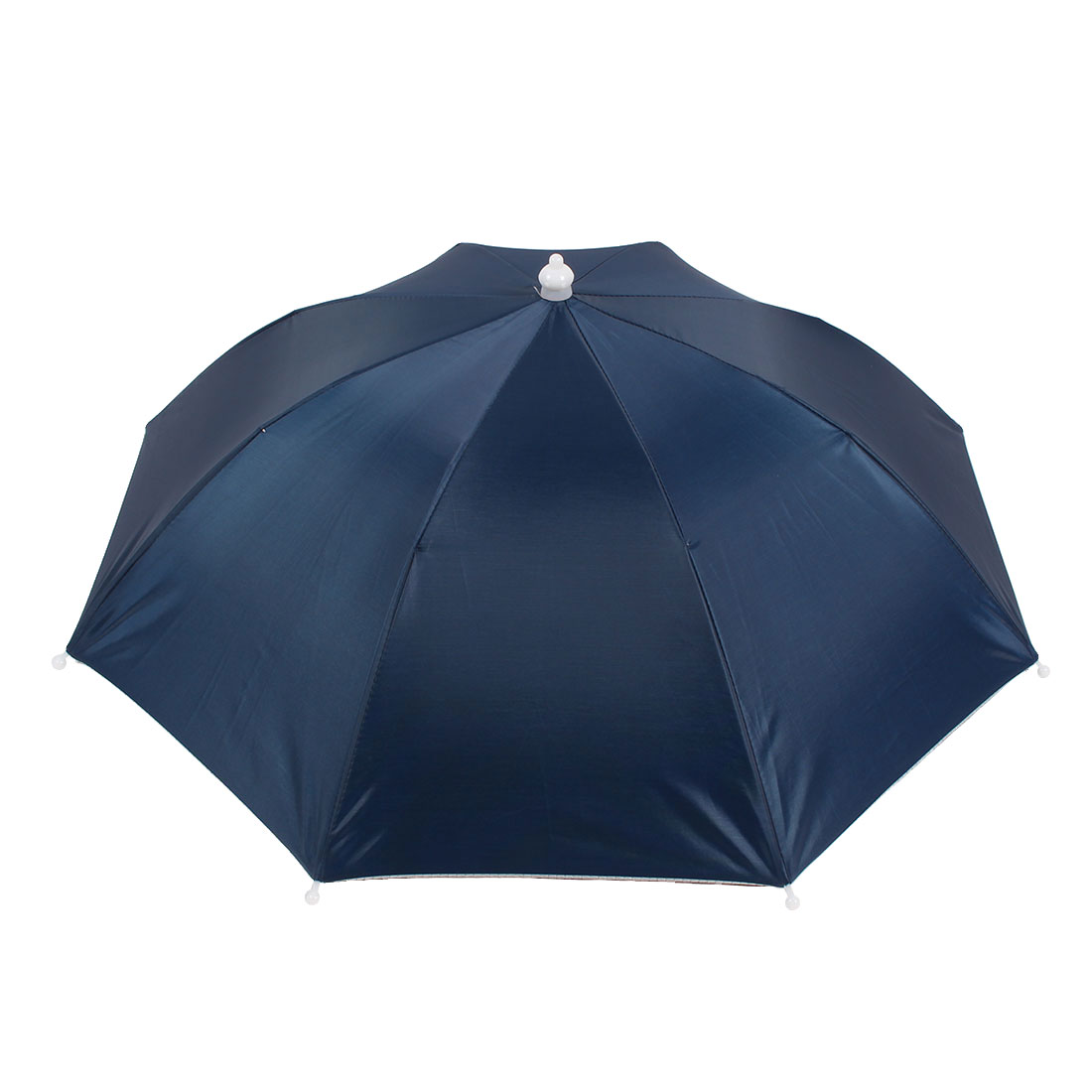 Portable Fishing Sun Protective Navy Blue Umbrella Hat for Fishing